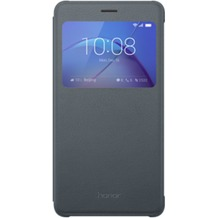 Huawei Honor 6X View Flip Cover, grau