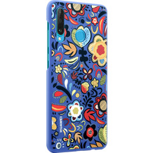 Huawei PC Cover Floral for P30 Lite blue