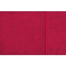 ibena Uni Decke Berlin dunkelrot 150 x 200 cm