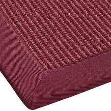 ilima Sisalteppich, Agave Deluxe, rot Wunschmaß ohne Fleckenschutz