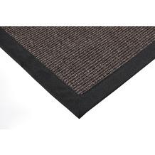ilima Sisalteppich Agave Deluxe schwarz-mel. Wunschmaß ohne Fleckenschutz