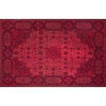 Kelii Vintage-Teppich Hawaii rot 80 cm x 150 cm