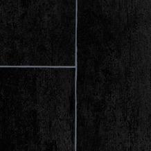 ilima Vinylboden PVC Fliesenoptik anthrazit schwarz 200 cm breit