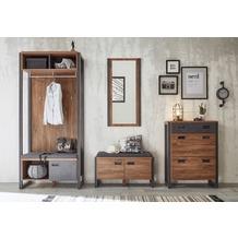 IMV Garderobenkombination Detroit VI, braun und schwarz Garderobe