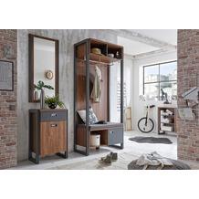 IMV Garderobenkombination Detroit I, braun und schwarz Garderobe