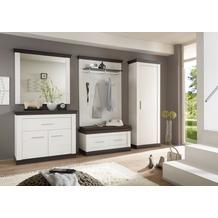 IMV Garderobenkombination Siena, weißbraun Garderobe 9PP2R2