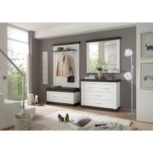IMV Garderobenkombination Siena, weißbraun Garderobe 9PP2R6