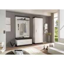 IMV Garderobenkombination Siena, weißbraun Garderobe 9PP2R8