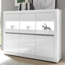 IMV Highboard Carat, weiß Kommode