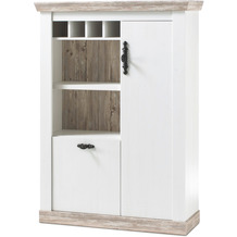 IMV Kommode Florenz I, weiß Highboard