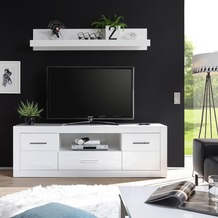 IMV Lowboard Bianco groß, weiß