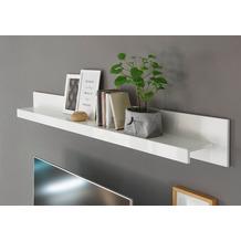 IMV Wandboard Meran weiß / weiß hochglanz 198 x 21 x 20