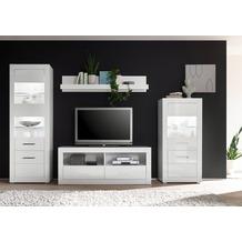 IMV Wohnwand Bianco, weiß