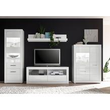 IMV Wohnwand Bianco, weiß 7WiX13