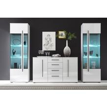 IMV Wohnwand Cantara, weiß 290 x 200cm