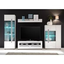 IMV Wohnwand Cantara 310 x 200cm, weiß