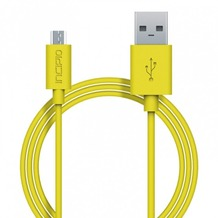 Incipio Charge/Sync Micro-USB Kabel 1m gelb PW-200-YLW