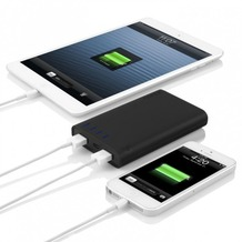 Incipio Portable Backup battery 8.000mAh 2 port, schwarz