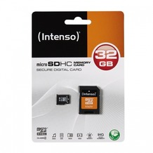 Intenso microSDHC Speicherkarte, Class4, 32 GB