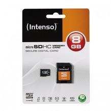 Intenso microSDHC Speicherkarte, Class4, 8 GB