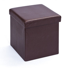 Inter Link Faltbox 'Setti klein braun' mit Sitzpolster