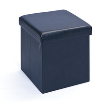 Inter Link Faltbox 'Setti klein schwarz' mit Sitzpolster