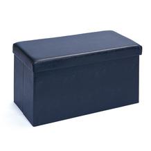 Inter Link Faltbox 'Setto groß schwarz' mit Sitzpolster