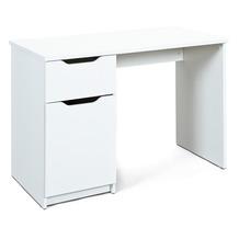 Inter Link Schreibtisch 'WESTPHALEN' 1 Schubl 1 Tür weiss