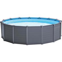 Intex GraphiteGrayPanel Pool-Set 478 x 124 cm (26384gn)
