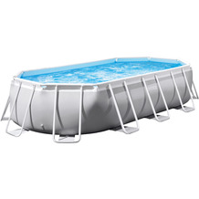 Intex Prism Frame Oval Premium Pool 503 x 274 x 122 cm (26796GN)