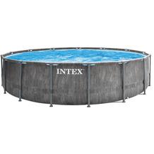 "Intex PrismFrame ""Greywood"" Pool-Set  549x122cm (26744GN)"