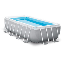 Intex PrismFrameRectangular Pool-Set, 400x200x100cm (26788GN)