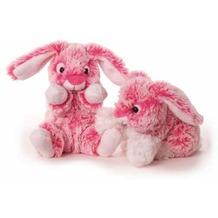 inware Plüschtier Hase pink, sitzend 15 cm rosa, pink