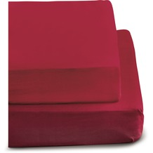 irisette BIBER BETTTUCH MERKUR 0006  chili 150 x 250 cm