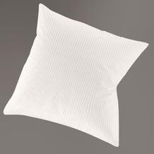 irisette interlock lumen 8129 silber Kissenbezug 15x40 cm