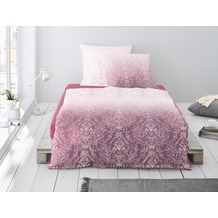 irisette MAKO-SATIN BETTWÄSCHE CAPRI 8086  rose 135 x 200 cm