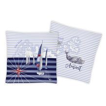 irisette microfaser jolly-set 8925 marine Kissenbezug 45x45 cm