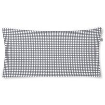 irisette Mako-Satin twist 8626 grafit Kissenbezug 40x80 cm