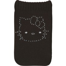 J-Straps Handysocke Hello Kitty, Black rhinestone