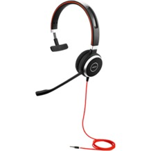 Jabra Evolve 40 UC Mono (Headset 3,5 mm Klinke)
