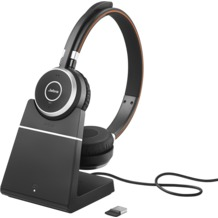 Jabra Evolve 65 binaural USB NC mit Ladestation