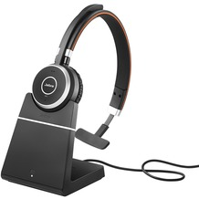 Jabra Evolve 65 MS monaural USB NC mit Ladestation