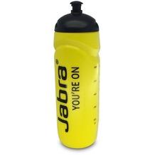 Jabra Getränkeflasche 750ml gelb mit Jabra Logo