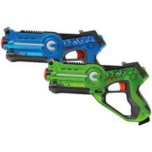 Jamara Impulse Laser Battle Set blau/grün