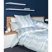 Janine Bettwäsche CARMEN S Interlock-Jersey mineralblau 55020-02 135x200, 80x80