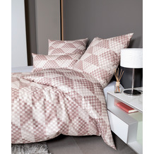 Janine Bettwäsche CARMEN S Interlock-Jersey rosenholz rosé 55024-01 135x200, 80x80