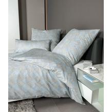 Janine Bettwäsche Carmen S Interlock-Jersey salbeigrün 55012 135x200, 80x80