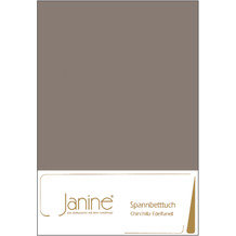 Janine Bettwäsche CHINCHILLA Chinchilla-Edelflanell, 100% Baumwolle taupe 7000-57 200x200