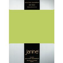 Janine Comfort-Jersey-Spannbettuch Elastic apfelgrün Spannbettlaken 200x200