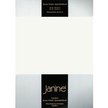 Janine Comfort-Jersey-Spannbettuch Elastic ecru Spannbettlaken 200x200